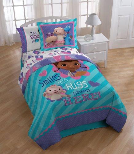 Disney Doc McStuffin Twin Reversible Comforter Set