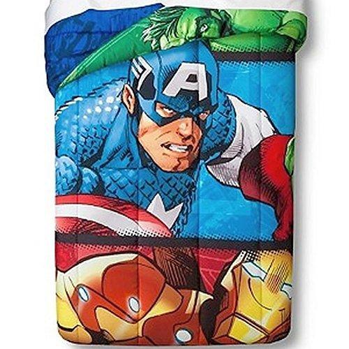 Marvel Avengers 2 Publish Reversible Comforter Twin