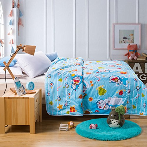 CASA Children 100 cotton Quilt Doraemon twin