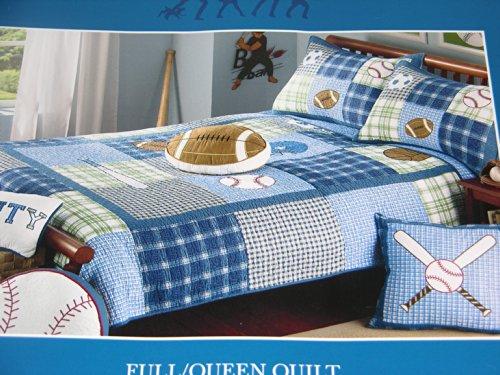 Charles Street Sports Jersey Tee Boys Cotton Quilt FullQueen