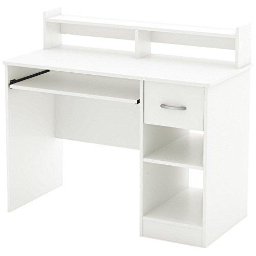 South Shore Axess Collection Desk Pure White
