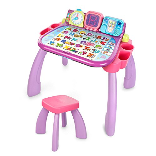 VTech Touch and Learn Activity Desk - Purple - Online Exclusive Non-Deluxe Version