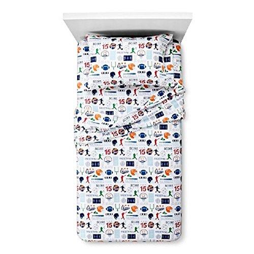 Circo Sports Zone Flannel Sheet Set 100 Cotton Queen