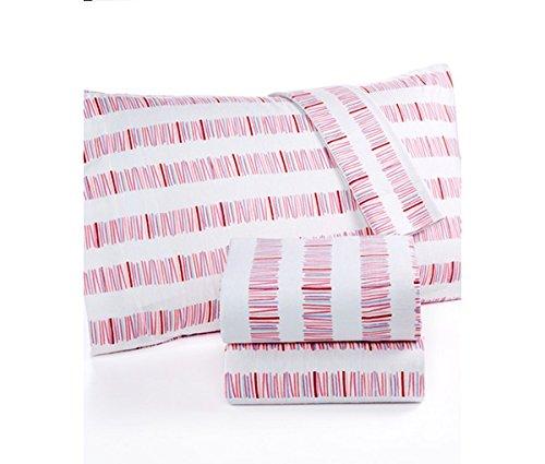 Martha Stewart KIDS 100 Cotton Flannel Sheet Set Full Double Size - Pick up Sticks