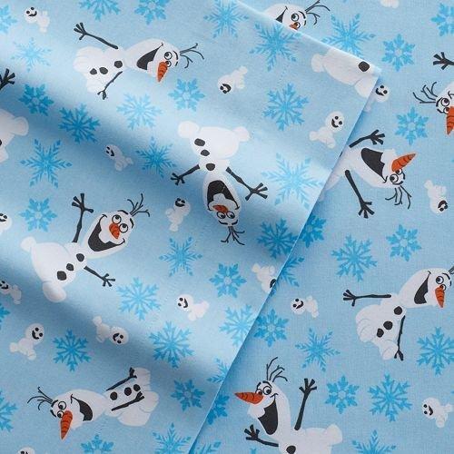 Twin Size Disneys Frozen Olaf Flannel Sheets