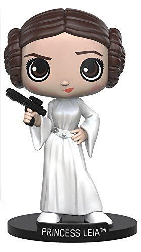 Funko Wobbler Star Wars Princess Leia Bobble-Head Action Figure by FunKo