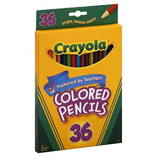 Crayola 36 Ct Long Colored Pencils