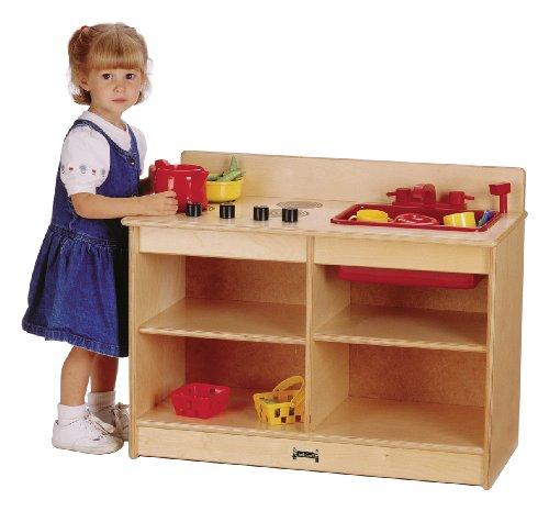 2-In-1 Toddler Kitchen - School Play Furniture
