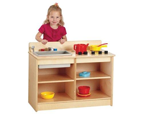 Jonti Craft Kids Children Fun Food Cooking Pretend Play Toy 2 In 1 Toddler Kitchen  Kid Toy  Hobbie  Nice Gift