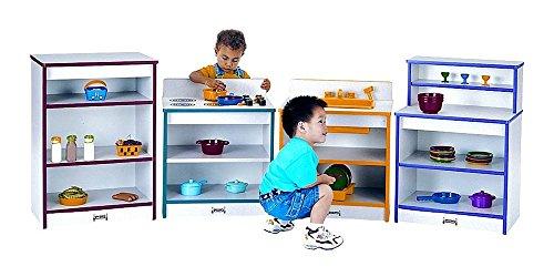 Rainbow Accents 4 Pc Toddler Kitchen Set Black