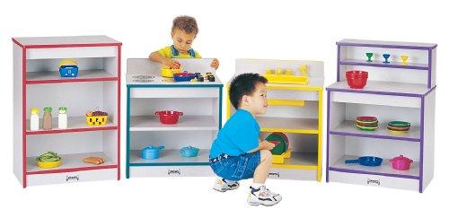 Toddler Kitchen - 4 Piece Set - Teal - School Play Furniture