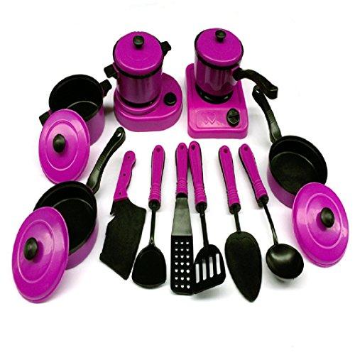 Axiba 13 Set Mini Kitchen Teacher Childrens Kids Pretend Play Toy