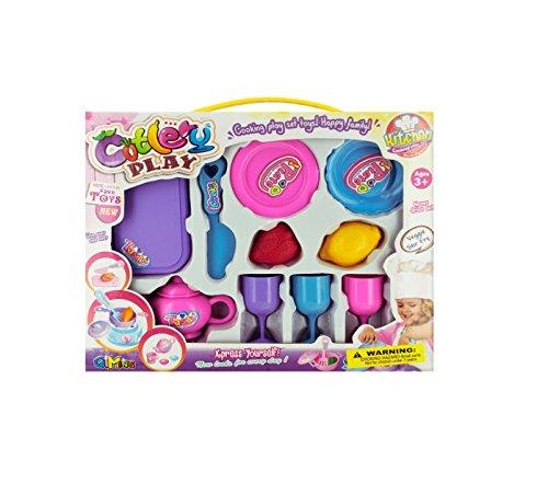 Bulk Buys Home Indoor Children Pretend Play Kids Toy Kitchen Set Pack Of 4