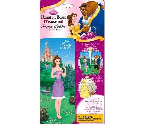 Lee Publications Disney Princess Beauty The Beast Magnetic Paper Dolls Collectors Series