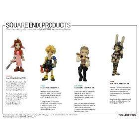 Final Fantasy Trading Arts Vol 3 Mini PVC Figure 4-Pack Aerith Gainsborough Tidus Bathier and Fran