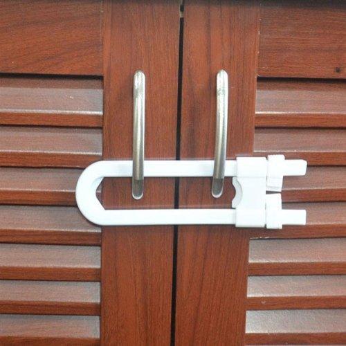 Baby U-shaped Door Safety Locks Cabinet Door Locks