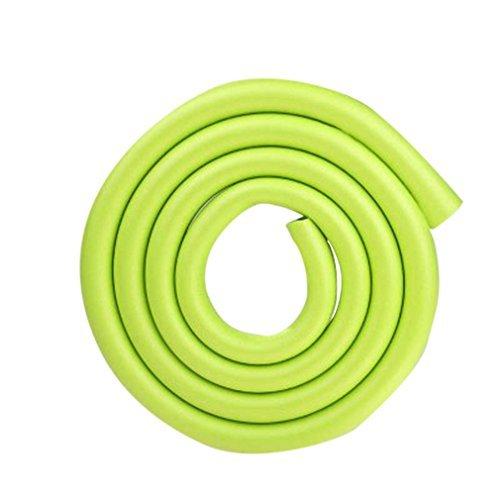 Bigood 408cm 2m Baby U upset anti-collision bar Table Safe Green Color Green Model