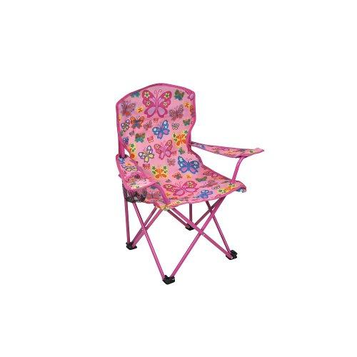 Sizzlin Cool Kids Fabric Chair - Pink Butterflies