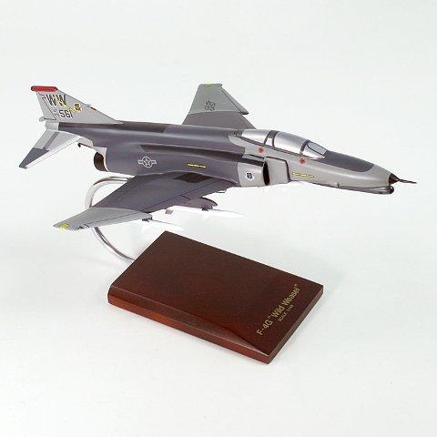 Mastercraft Collection MCF4GWWW F-4G Phantom USAF Wild Weasel Wood Desktop Model