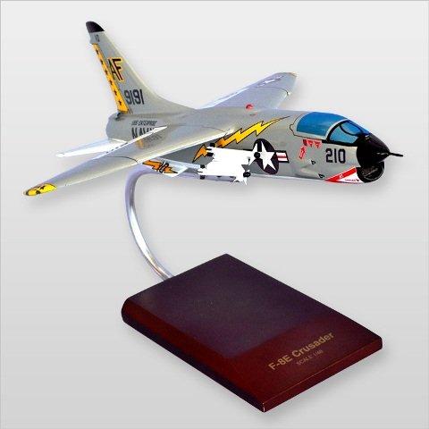Mastercraft Collection MCF8ECW F-8E Crusader Wood Desktop Model