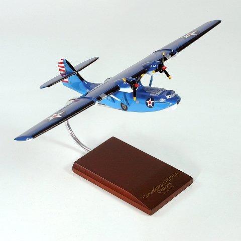 Mastercraft Collection MCPBY5AW Pby-5A Catalina Wood Desktop Model