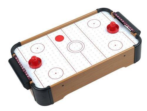 21 Mini Air Hockey Tabletop Game Set