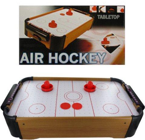 Mini Tabletop Air Hockey Game Kids Children