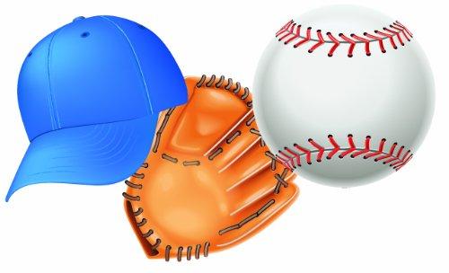Eureka Baseball Paper Cut Outs 36 Count