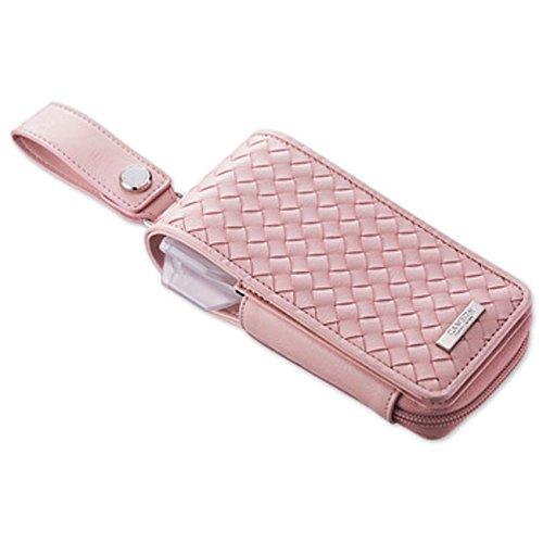 CAMEO DART case GARMENT INTRECCIATO pink