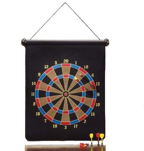 PrimeTrendz Large Magnetic Dartboard Dart Board Game W6 Darts