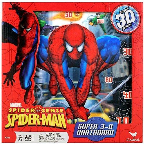 Spider-Man Spider-Sense Super 3D Dartboard