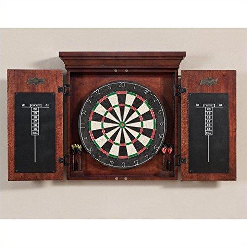 American Heritage Athos Bristle Dart Board Complete Set