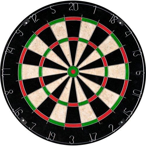 TG Champion Tournament Bristle Dartboard Multicolor 18 x 15-Inch