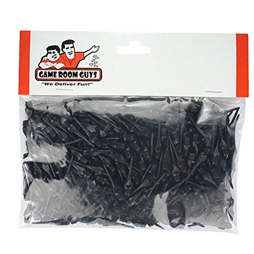 Set of 250 Black Dart Tips Soft - 14