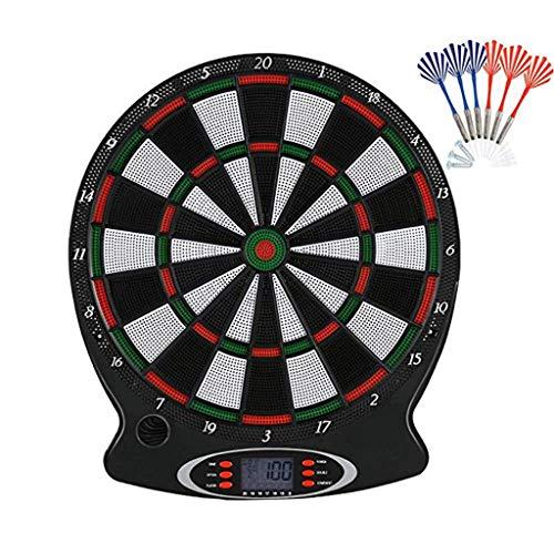 Electronic Dartboard Lyperkin Professional Electronic Darts Target with 6 Darts Target Practice Dart Target