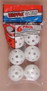 Wiffle Practice Golf Balls - 6 Pack