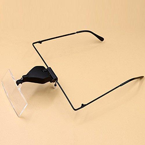 Hunter Optics Eyeglass Lamp Led Lamp with Magnifying Glass Led Lamp Magnifier LED Magnifying Glasses for Lash Extension