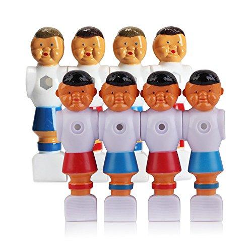 Awakingdemi 4pcs Rod Foosball Soccer Table Football Men Player Replacement Parts