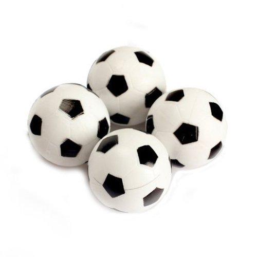 Table Foosball - TOOGOOR 30pcs 32mm Plastic Soccer Table Foosball Ball Football