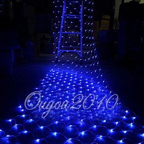 100300 LED String Light Christmas Xmas Decorative Lamp Net Party Wedding Decor Blue 1515MLW100LED