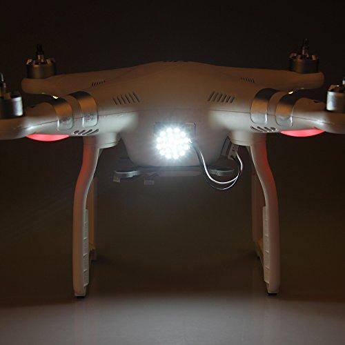 SKYREAT 24 LED Spot Head Light Decorative lamp-Energy saving for DJI Phantom 3 ProAdvancedStandard