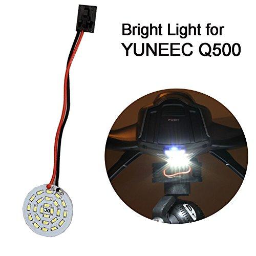 Yosoo Bright Light Round Night LED Spot Head Light Decorative Lamp Mini Searching Lamp for YUNEEC Q500 Quadcopter