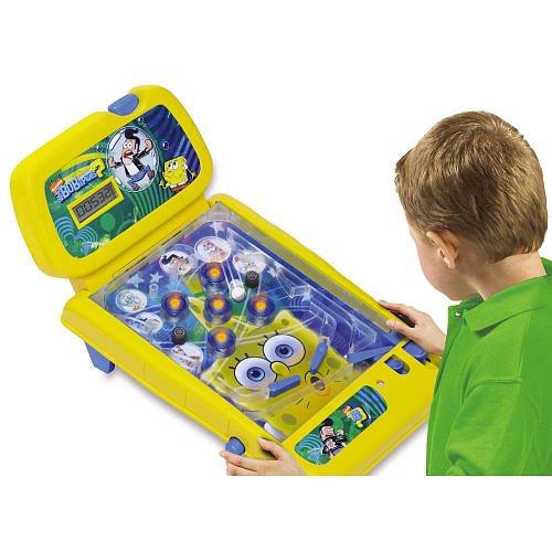 WhoBob WhatPants SpongeBob Electronic Tabletop Pinball Game Arcade Lights Sounds