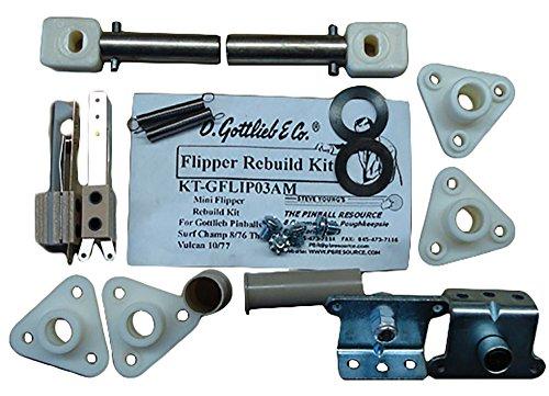 Gottlieb Pinball Flipper Rebuild Kit 876 to 1077