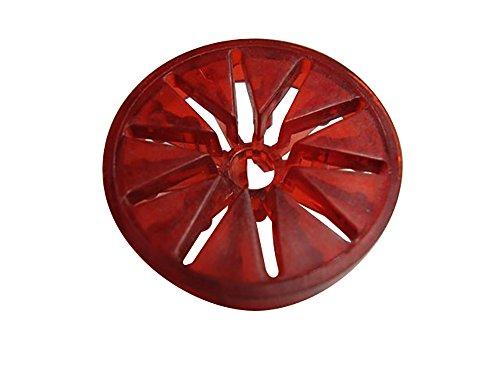 Rollover Button Housing - Red Translucent Bally Gottlieb Pinball