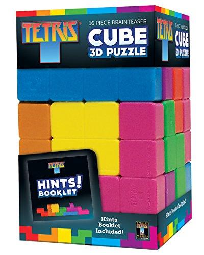 Masterpieces Tetris Cube Brainteaser Puzzle 16-Piece