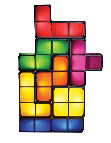 Original Tetris LED Games Light Constructible Desk Lamp Toys Night Light 7 Individual Pieces