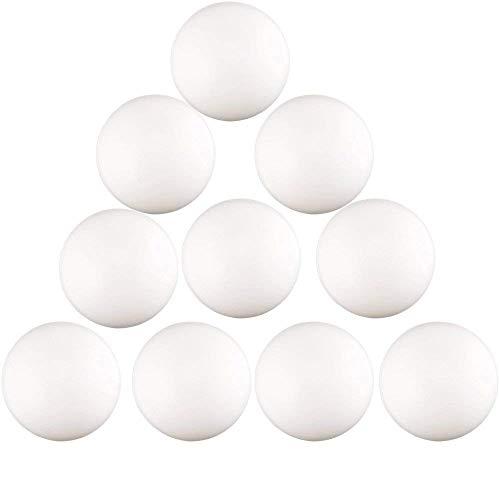 Kaptin 150 Pcs 40mm Plastic Beer Pong BallsTable Tennis BallBeer Pong TablesPing Pong Balls GamesWhite