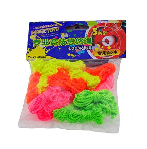 MAGICYOYO 20 yoyo Strings 100 Polyester MAGICYOYO YoYo Strings