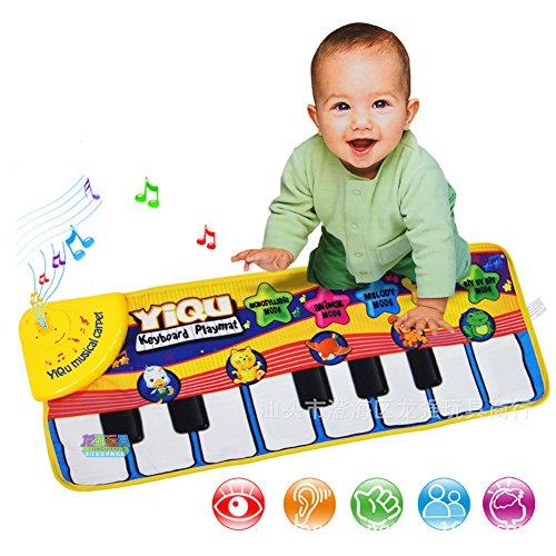 Mallya Funny Keyboard Piano Mat for Kids3 Model SoundMusic mode animal sound mode the piano mode